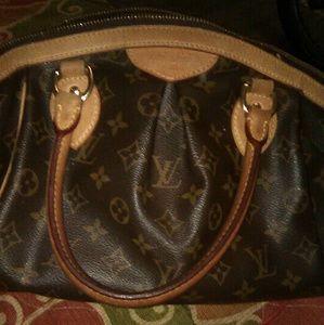 Louis Vuitton Tivoli pm bag n watches
